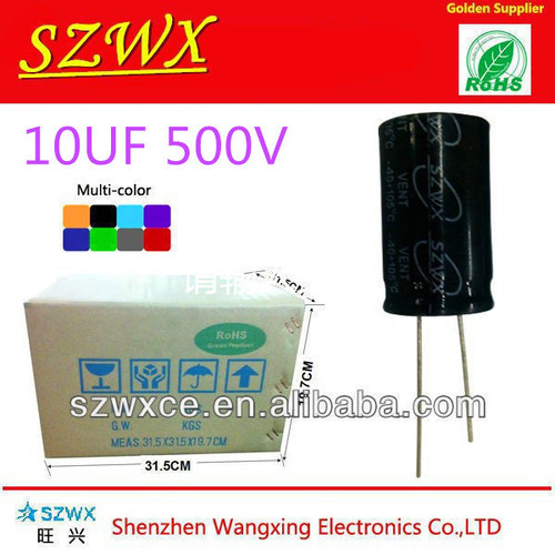 10UF 500V Electrolytic Capacitor