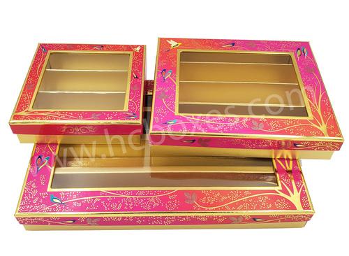 Floral Mithai Packaging Box