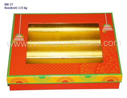 Sanskruti Mithai Packaging Box