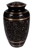 Classic Black Color Brass Urn