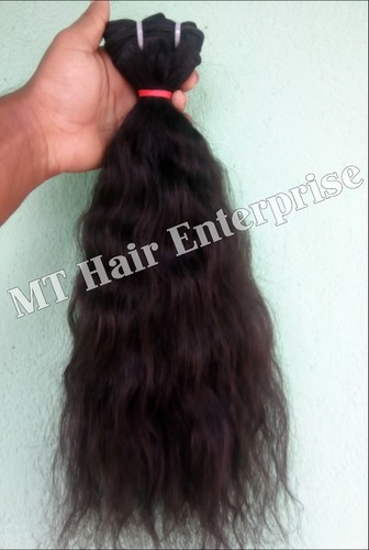 Natural Curly Weft Hair Extensions