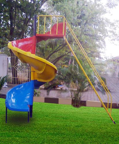Frp Spiral Slide in   Pathanamthitta District.