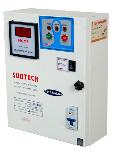 Single Phase Motor Starter Super Digi - S  S  POWER SYSTEM, Plot No