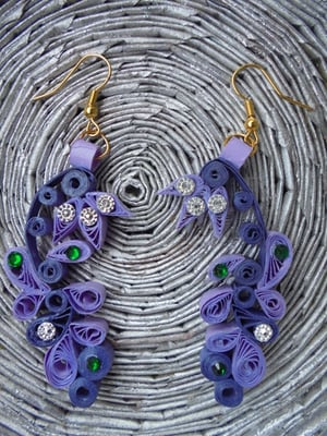 Exclusive Quilling Earrings