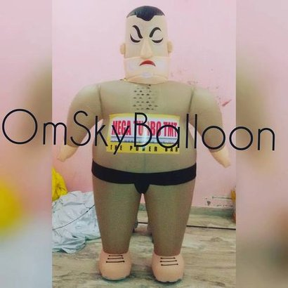 Nylon Sumo Fighter Walking Inflatable