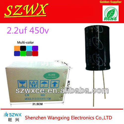 2.2uf 450v Capacitor With High Voltage