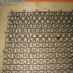 Alphabet Cutting Dies