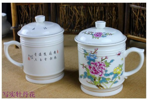 Peonies Tea Cup in   Jiading District