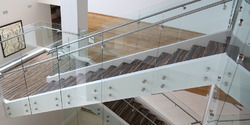 Customized Ss Glass Railing