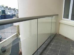Frameless SS Glass Hand Railing