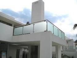 Stainless Steel Design Glass Handrail