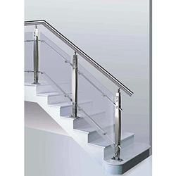Stainless Steel Modern Balustrade Glass Handrail