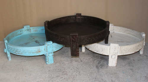 Hand Carved Grinder Table in  Pali Road