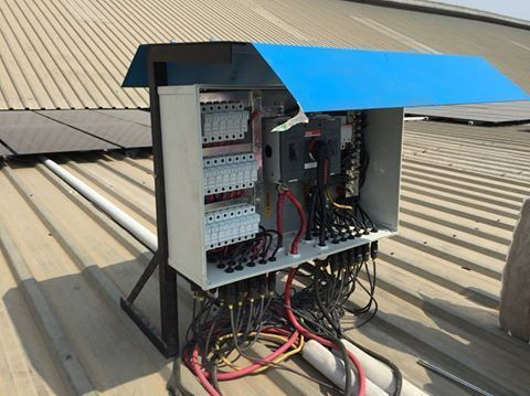 Solar String Combiner Box 22 In 1 Out