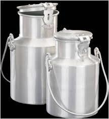 Aluminum Milk Can in  Shahdara