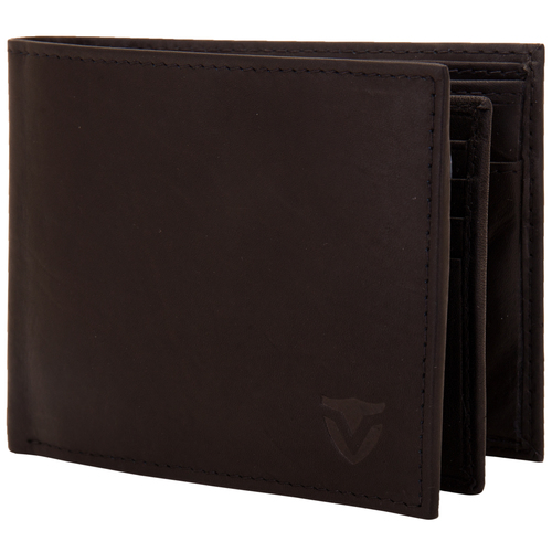 Valbone Men Black Genuine Leather Wallet