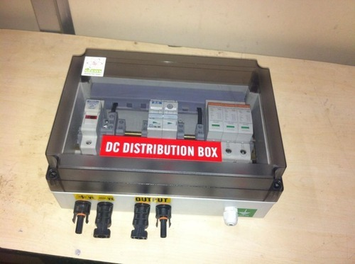Solar Array Junction Boxes 1In 1Out For Upto 3KWp
