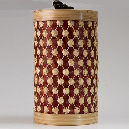 Bamboo Lampshade Pineapple Weave
