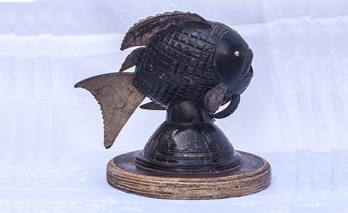 Coconut Shell Craft Fish