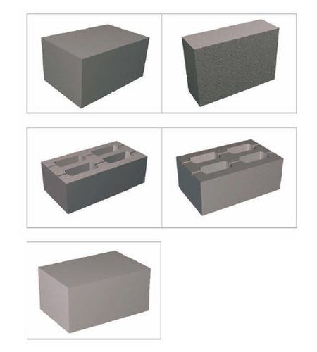 Hollow And Solid Concrete Blocks