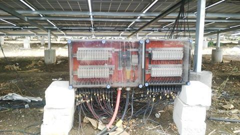 Solar String Combiner Box For Utility Scale Projects