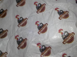 Custom Printed Butter Paper Wrapper