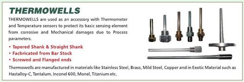 Thermowells In Kolkata, Thermowells Dealers & Traders In