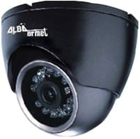 Dome Camera With IR LED Fitted On Three Axis Adjustable Support