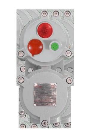 FLP/WP Start/Stop Push Button Station with Indicating Lamp