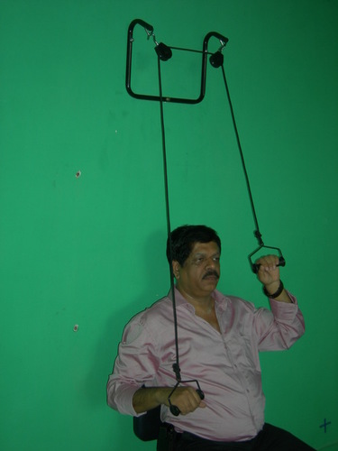 Shoulder (Double) Pulley Set (Wall Mounting)