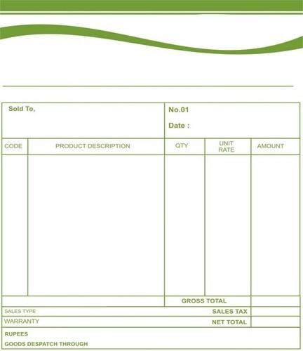 bill book printing service in padi chennai national printing press