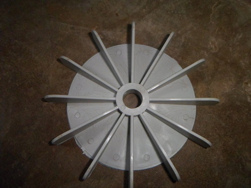 Plastic Cooling Fan For Pump
