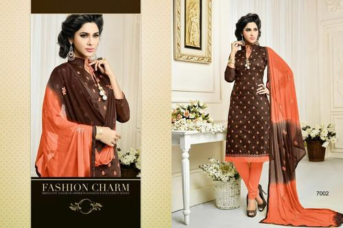 Ladies Salwar Suit Dress Material Fabric