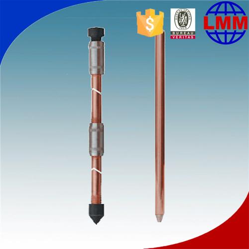 Copper Bond Wire Hammer Lock for grounding Rod in Dalian