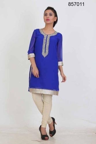 057aa45f8ea5 Ladies Short Georgette Kurti in Mumbai