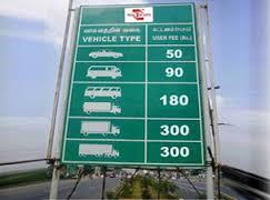 Toll Plaza Safety Boards