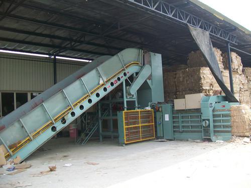 Automatic Waste Paper Baling Machine in Qingdao, Shandong