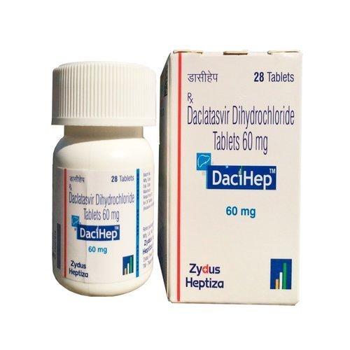 Dacihep Daclatasvir Dihydrochloride Tablets in  Darya Ganj