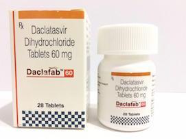 Daclafab Daclatasvir Dihydrochloride Tablets in  Darya Ganj