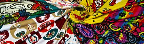 Digital Custom Printed Fabric