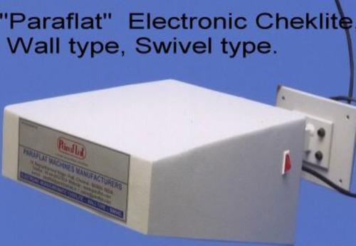 Paraflat Electronic Wall Type Cheklite