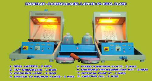Portable Dual Seal Lapper With Cheklite