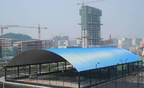 High Grade Industrial Trussless Roof