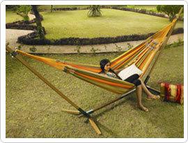 Brazilian Style Hand Woven Sleeping Hammock