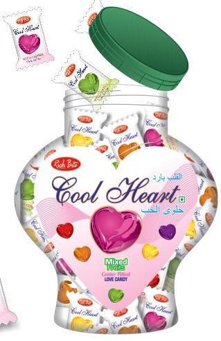 Cool Heart Candies (Jar)