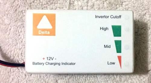 Battery Charging Discharging Indicator