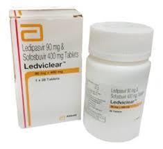 Ledviclear Sofosbuvir And Ledipasvir Tablets