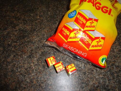 Maggi Seasoning Cubes / Jumbo Maggi Cube in   Podmaniczky Utca 57. 2. Em. 14.