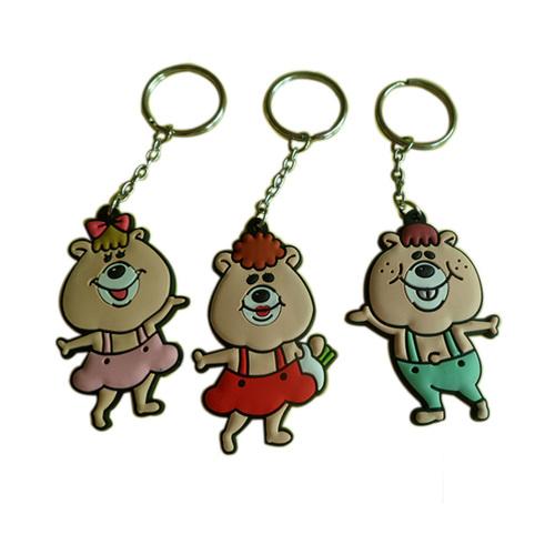 3d Pvc Key Chain
