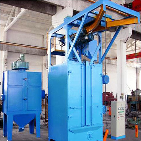 Y Type Hanger Shot Blasting Machine